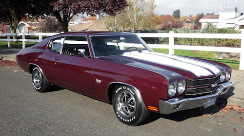 1970 Chevelle SS In Detail